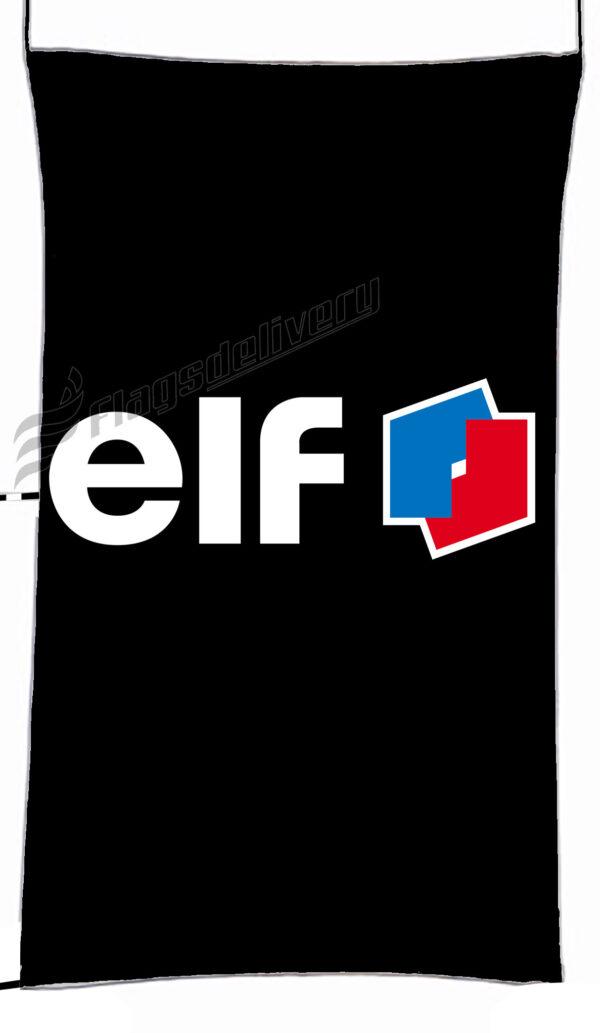 Flag  Elf Black Vertical Flag / Banner 5 X 3 Ft (150 X 90 Cm) Advertising Flags