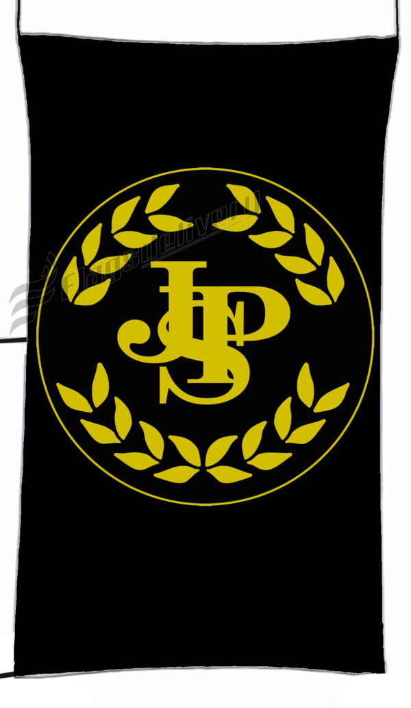 Flag  John Player Special Black Circle 1 Vertical Flag / Banner 5 X 3 Ft (150 X 90 Cm) Advertising Flags