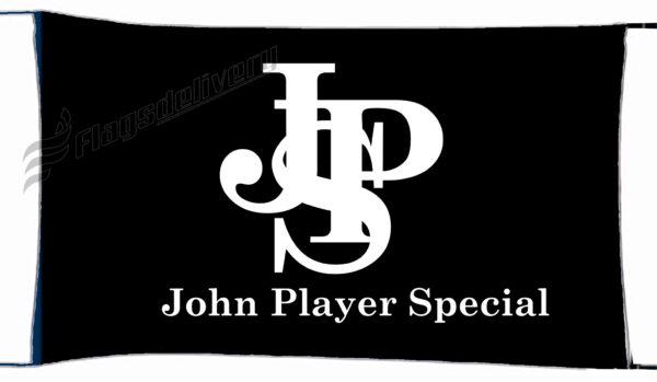 Flag  John Player Special Black White Landscape Flag / Banner 5 X 3 Ft (150 X 90 Cm) Advertising Flags