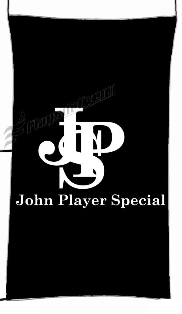 Flag  John Player Special Black White Vertical Flag / Banner 5 X 3 Ft (150 X 90 Cm) Advertising Flags