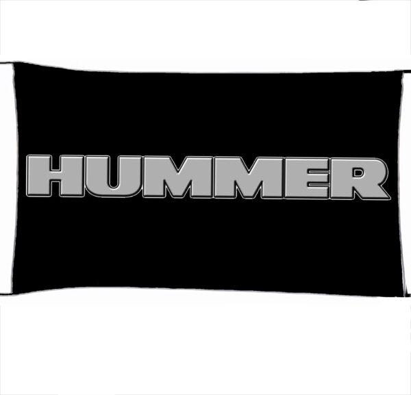 Flag  Hummer 3D Black Silver Landscape Flag / Banner 5 X 3 Ft (150 X 90 Cm) Automotive Flags