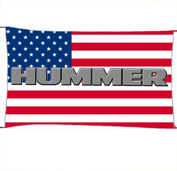 Flag  Hummer 3D Us Flag Landscape Flag / Banner 5 X 3 Ft (150 X 90 Cm) Automotive Flags
