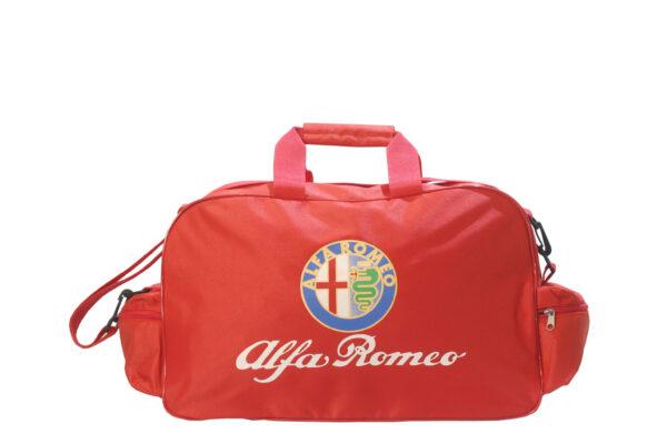 Flag  Alfa Romeo Red Travel / Sports Bag Travel / Sports Bags
