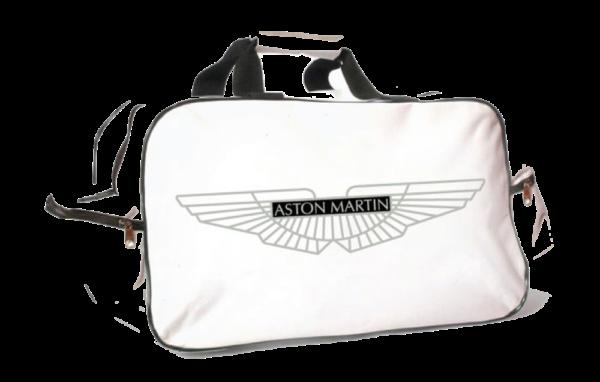 Flag  Aston Martin White Travel / Sports Bag Travel / Sports Bags
